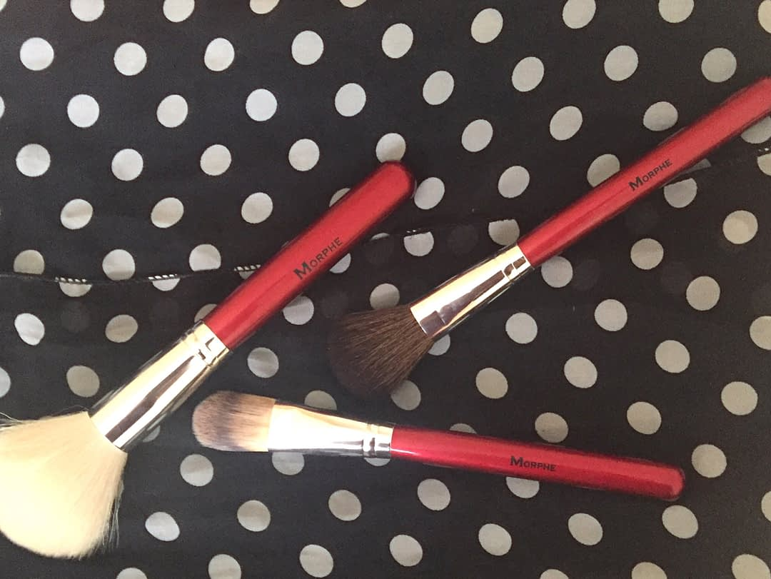 Morphe Brushes 700 8 Piece Candy Apple Red Brush Set
