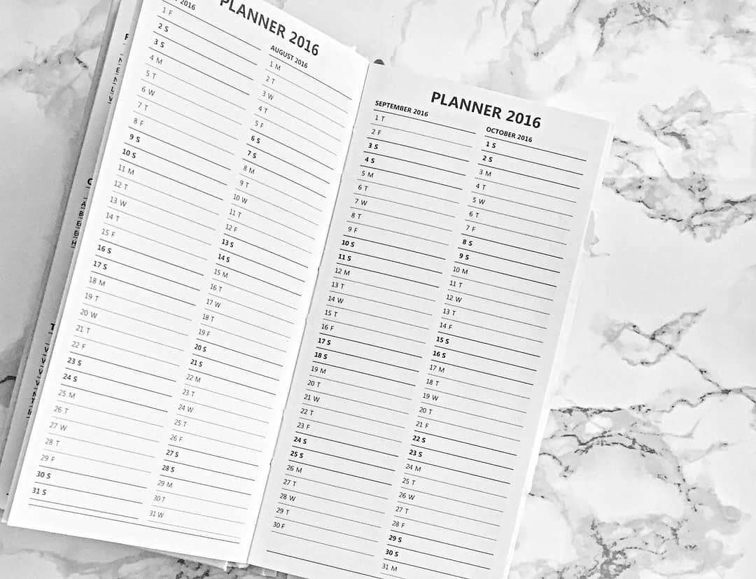 starting a blog planning
