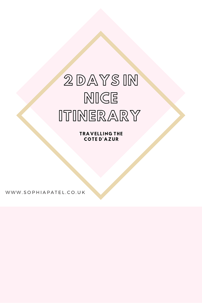 nice itinerary sophiapatel.co.uk