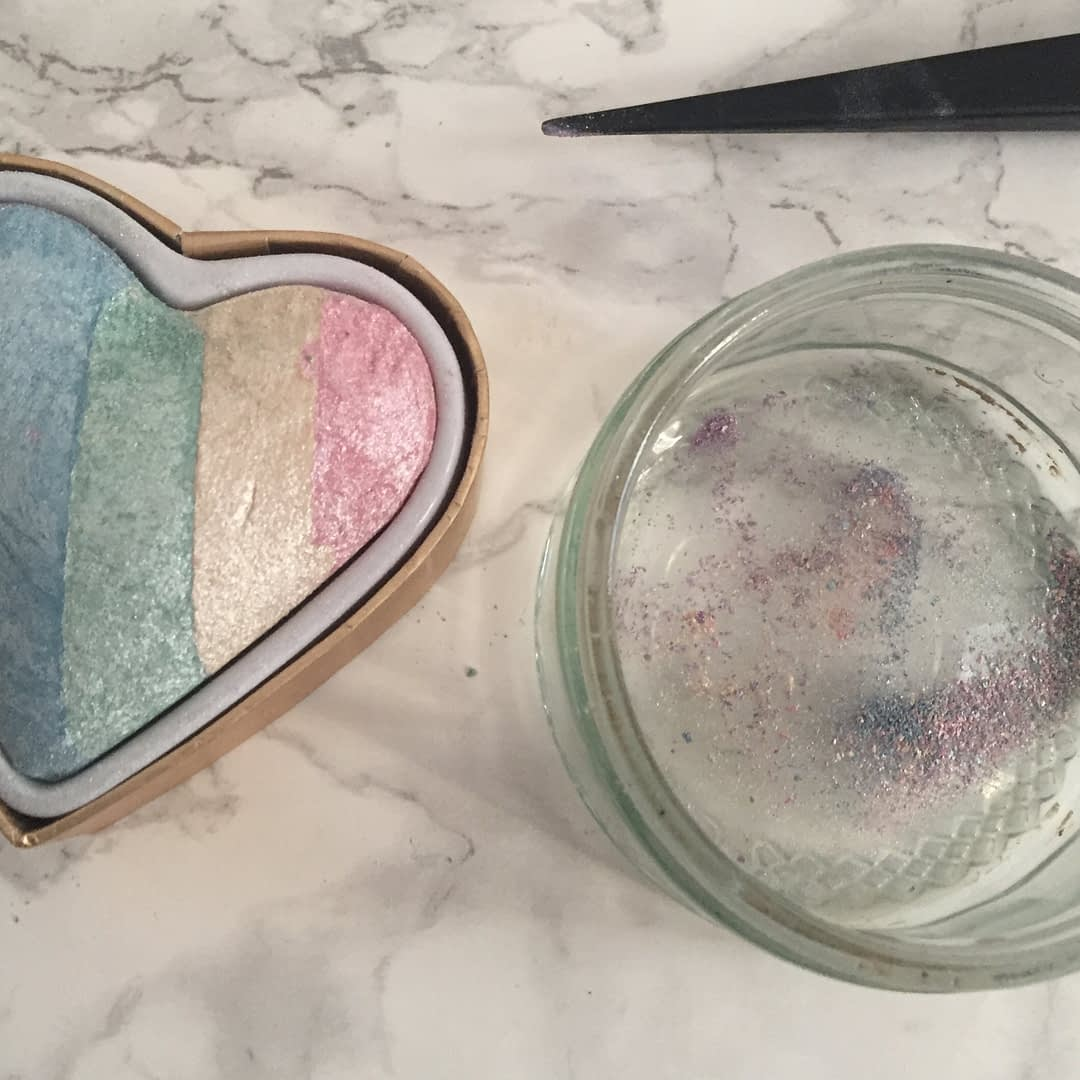 mixing highlighters