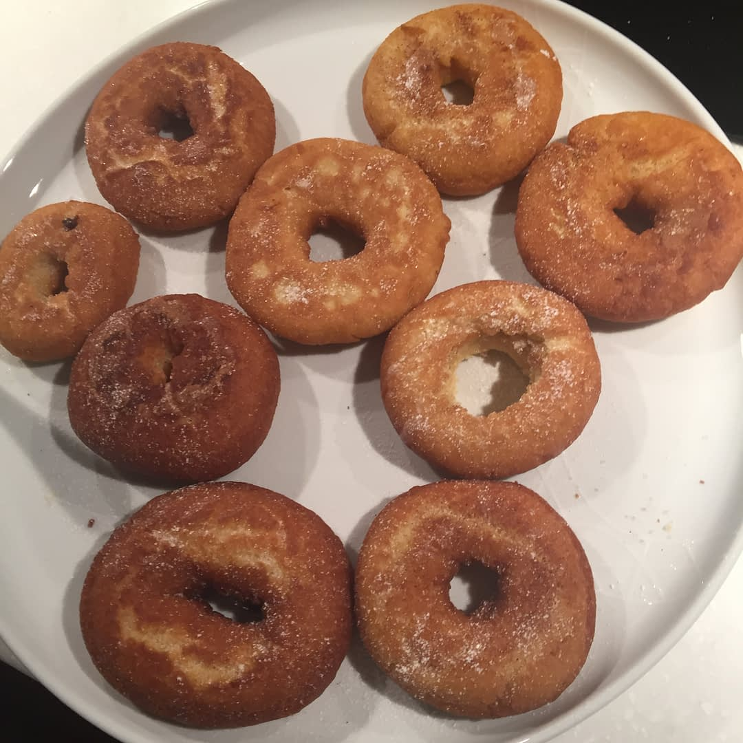 Doughnuts at home