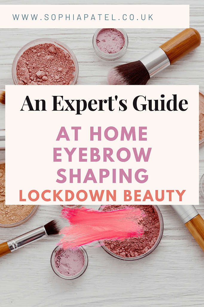 Whatever your motivation, if you're planning to do a DIY eyebrow tidy or want to nail the lockdown beauty regime, you want to do it right and ensure you get the perfect brow. Here are my top tips for getting flawless eyebrows in the comfort of your own home.