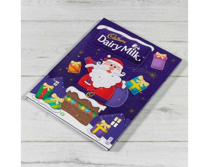 dairy milk advent calendar