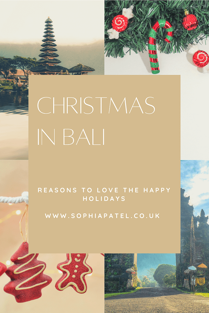 christmas in bali