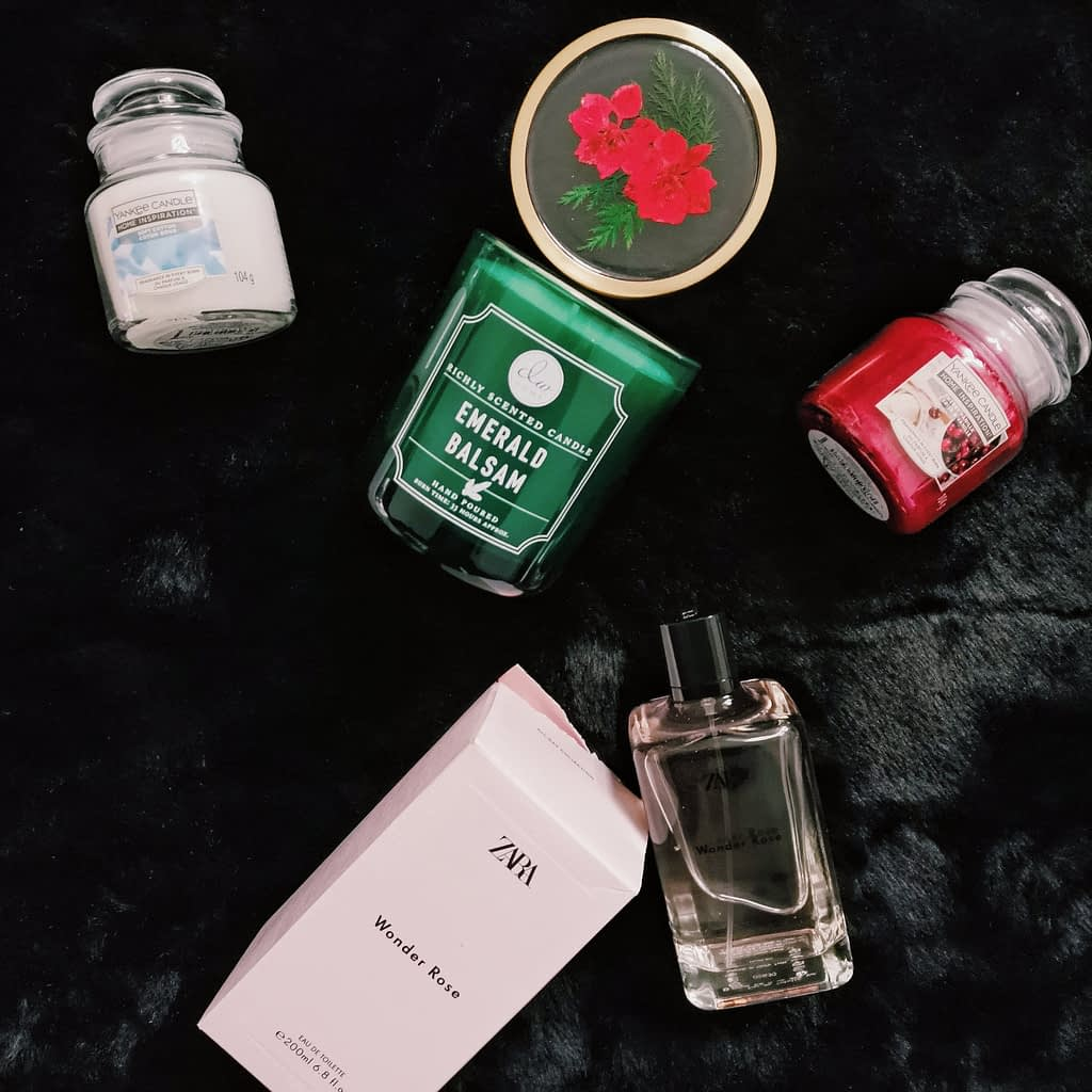 scents and candle christmas gifts
