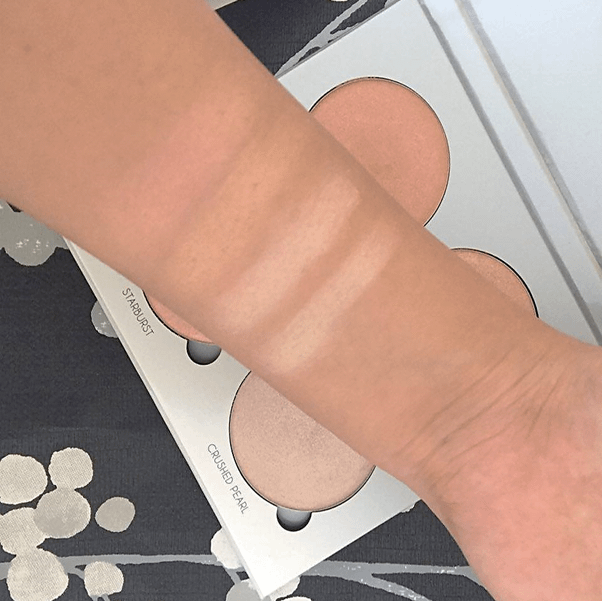 anastasia beverly hills glow kit swatches